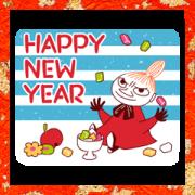 สติ๊กเกอร์ไลน์ Moomin: New Year's Animated Stickers