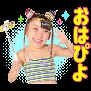 สติ๊กเกอร์ไลน์ Fuwa-chan Talking Stickers