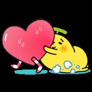 สติ๊กเกอร์ไลน์ BananaMan - ❤ Clingy Clingy ❤