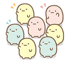 Sumikko Gurashi: Myriad of Feelings sticker #41247