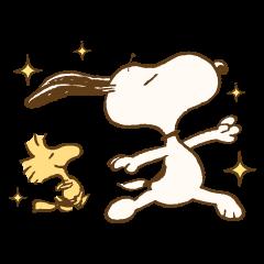 Snoopy & Woodstock วินเทจ