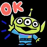 สติ๊กเกอร์ไลน์ Daily Alien Stickers