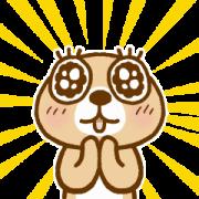 สติ๊กเกอร์ไลน์ MOVE! Rakko-san 2