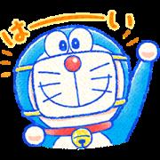 สติ๊กเกอร์ไลน์ Doraemon All-Purpose Greeting Stickers