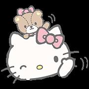 สติ๊กเกอร์ไลน์ Hello Kitty (with Tiny Chum)