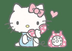 Hello Kitty (with Tiny Chum) sticker #42094