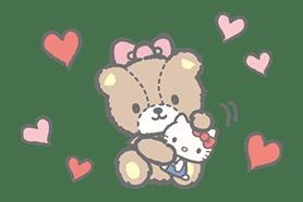 Hello Kitty (with Tiny Chum) sticker #42095