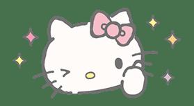 Hello Kitty (with Tiny Chum) sticker #42096