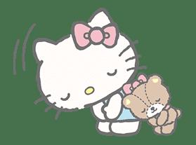 Hello Kitty (with Tiny Chum) sticker #42098