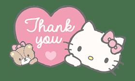 Hello Kitty (with Tiny Chum) sticker #42099