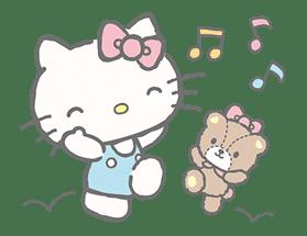 Hello Kitty (with Tiny Chum) sticker #42100