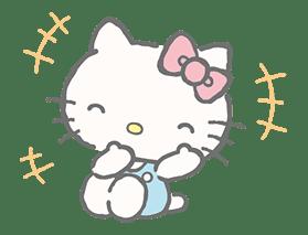 Hello Kitty (with Tiny Chum) sticker #42101