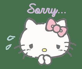 Hello Kitty (with Tiny Chum) sticker #42103