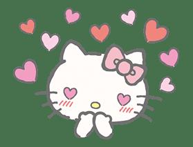 Hello Kitty (with Tiny Chum) sticker #42105