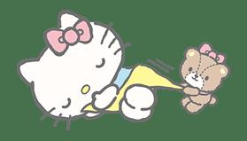 Hello Kitty (with Tiny Chum) sticker #42106