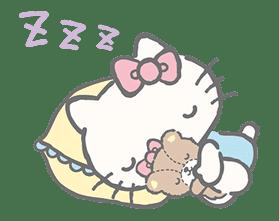 Hello Kitty (with Tiny Chum) sticker #42107