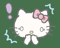 Hello Kitty (with Tiny Chum) sticker #42108