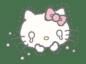 Hello Kitty (with Tiny Chum) sticker #42110