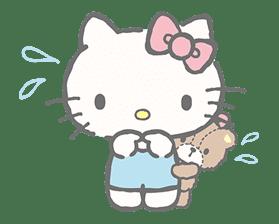 Hello Kitty (with Tiny Chum) sticker #42112
