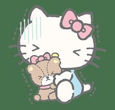 Hello Kitty (with Tiny Chum) sticker #42114
