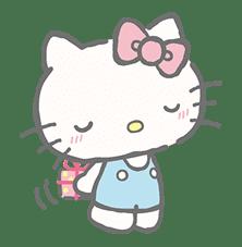 Hello Kitty (with Tiny Chum) sticker #42117