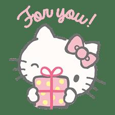 Hello Kitty (with Tiny Chum) sticker #42118