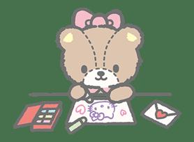 Hello Kitty (with Tiny Chum) sticker #42119