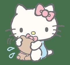 Hello Kitty (with Tiny Chum) sticker #42120