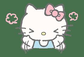 Hello Kitty (with Tiny Chum) sticker #42122