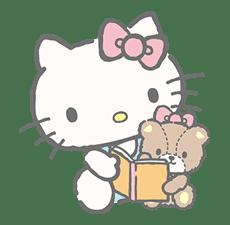 Hello Kitty (with Tiny Chum) sticker #42123