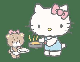 Hello Kitty (with Tiny Chum) sticker #42124