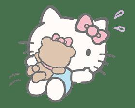 Hello Kitty (with Tiny Chum) sticker #42126