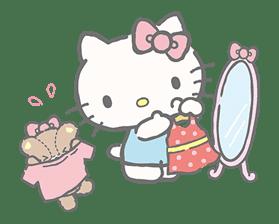 Hello Kitty (with Tiny Chum) sticker #42127