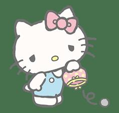 Hello Kitty (with Tiny Chum) sticker #42128