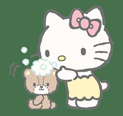 Hello Kitty (with Tiny Chum) sticker #42129