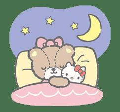 Hello Kitty (with Tiny Chum) sticker #42131