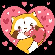 สติ๊กเกอร์ไลน์ LOVE☆RASCAL และผองเพื่อน