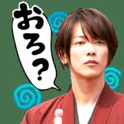 สติ๊กเกอร์ไลน์ Rurouni Kenshin Movie Big Stickers