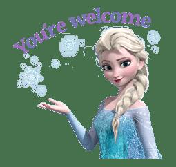 Frozen sticker #42850