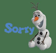 Frozen sticker #42853