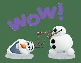 Frozen sticker #42855
