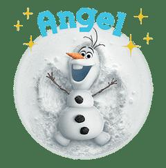 Frozen sticker #42864