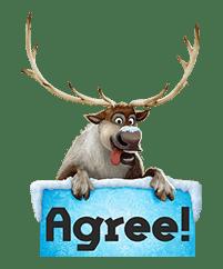 Frozen sticker #42865