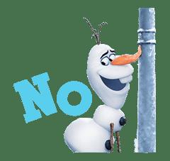 Frozen sticker #42870