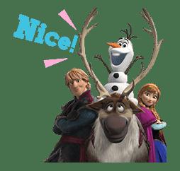 Frozen sticker #42871