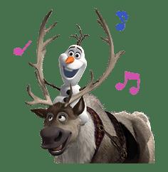 Frozen sticker #42874