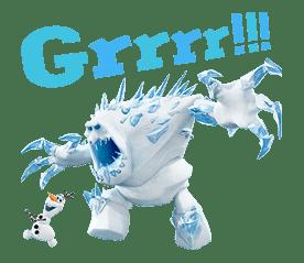 Frozen sticker #42875