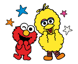 Sesame Street ★ Happy Days sticker #43952