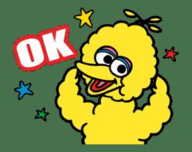 Sesame Street ★ Happy Days sticker #43954
