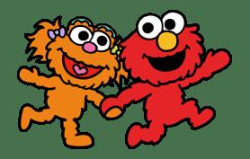 Sesame Street ★ Happy Days sticker #43962
